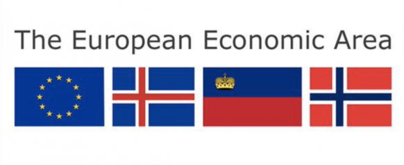 European Economic Area Flags