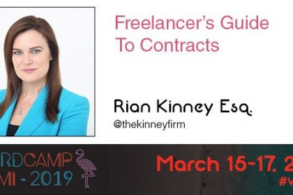 WCMIA Freelancer's Guide to Contracts Graphic
